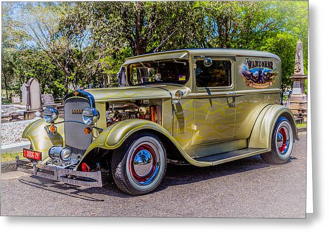 Dodge 5 Greeting Card by Keith Hawley