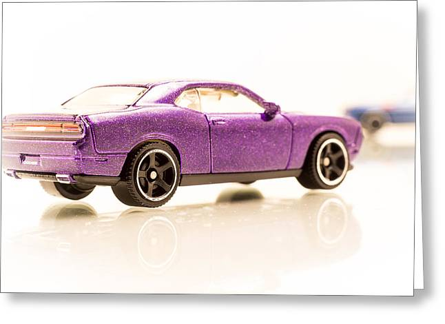 Dodge Challenger Greeting Card