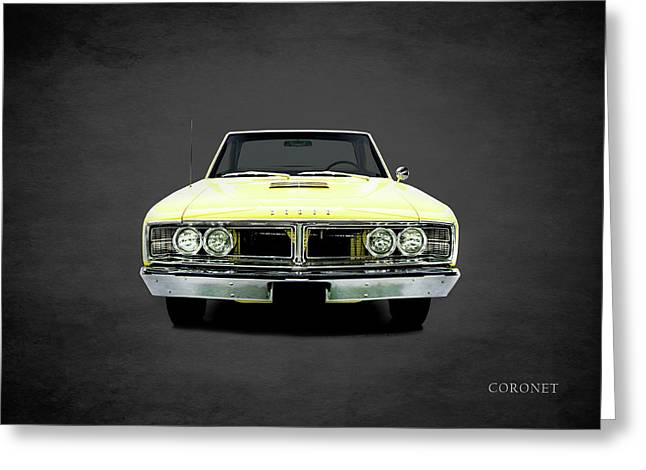 Dodge Coronet 500 Greeting Card