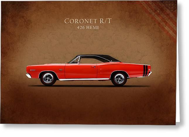 Dodge Coronet R T Greeting Card