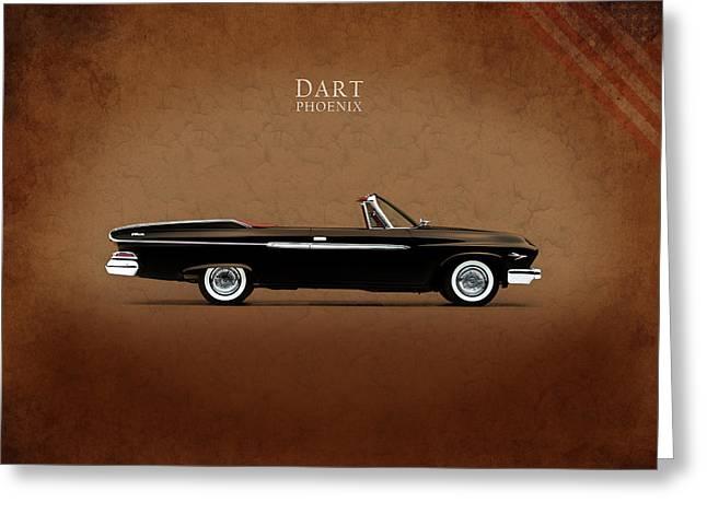 Dodge Dart D 500 Greeting Card