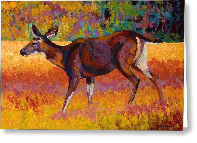 Doe IIi Greeting Card by Marion Rose