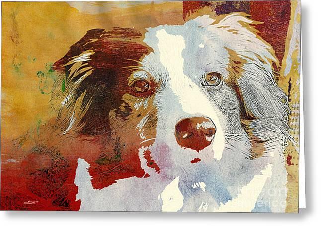 Dog Portrait Greeting Card