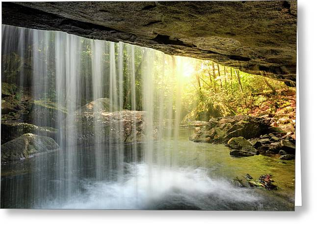 Dog Slaughter Falls Greeting Card
