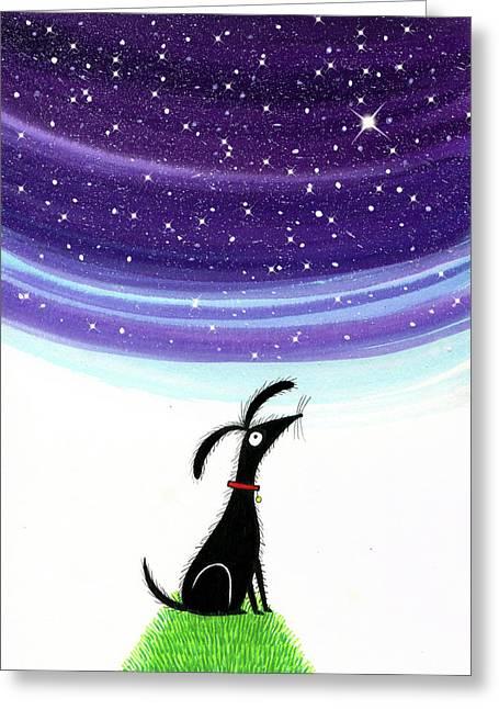 Dog Star  Greeting Card
