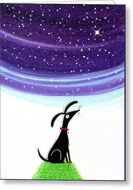 Dog Star  Greeting Card