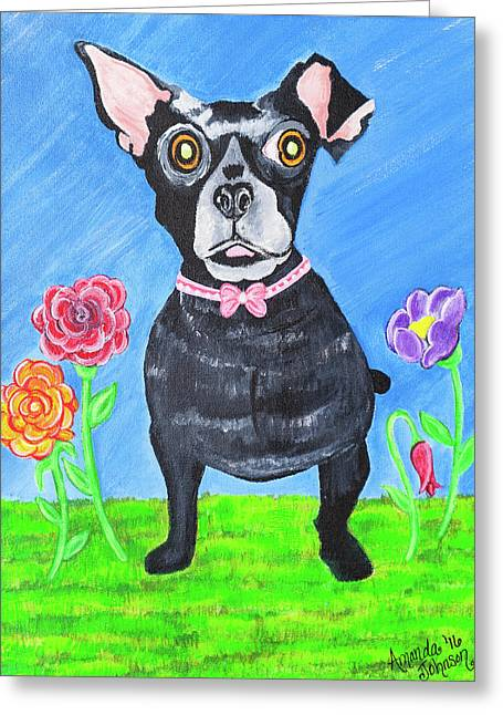Doggone Delightful Greeting Card