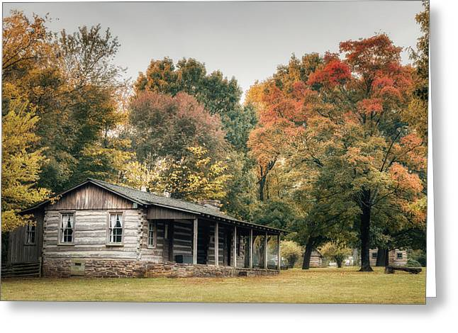Dogtrot House Greeting Card by James Barber