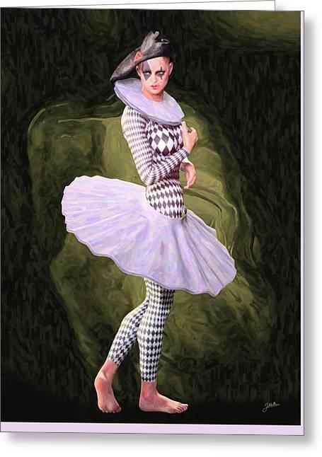 Doll Tutu Greeting Card by Joaquin Abella