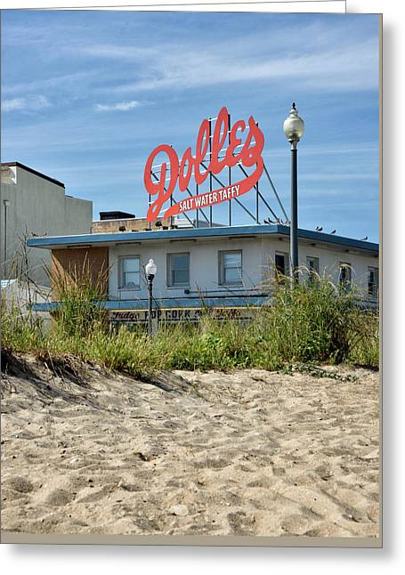 Greeting Card featuring the photograph Dolles From The Beach - Rehoboth Beach Delaware by Brendan Reals