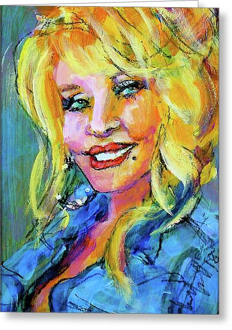 Dolly Greeting Card