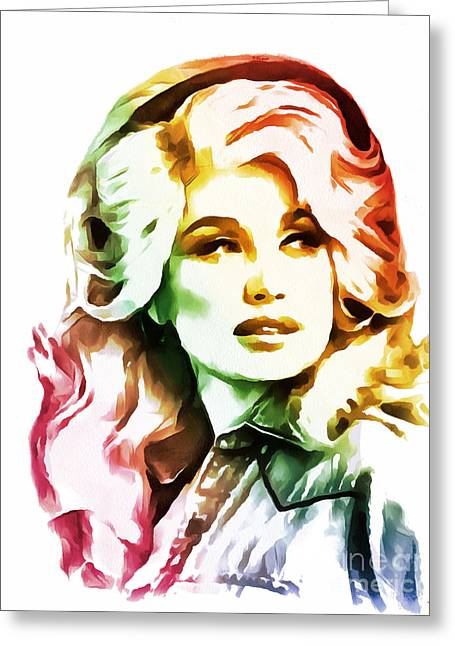 Dolly Parton Collection - 1 Greeting Card