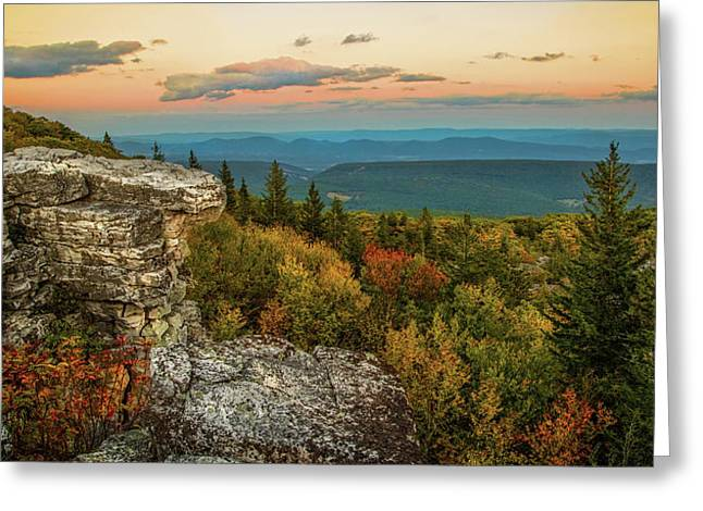 Dolly Sods Autumn Sundown Greeting Card