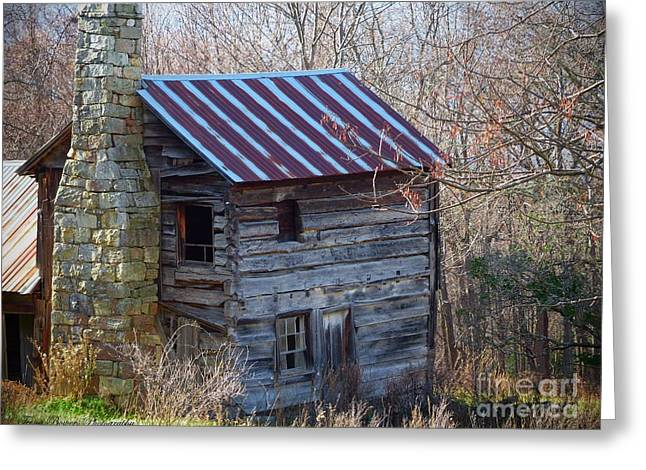 Dolly's Hearth - Pendleton County West Virginia Greeting Card