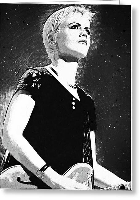 Dolores O Riordan Greeting Card