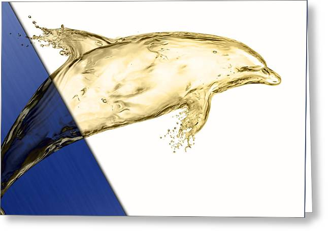 Dolphin Collection Greeting Card by Marvin Blaine