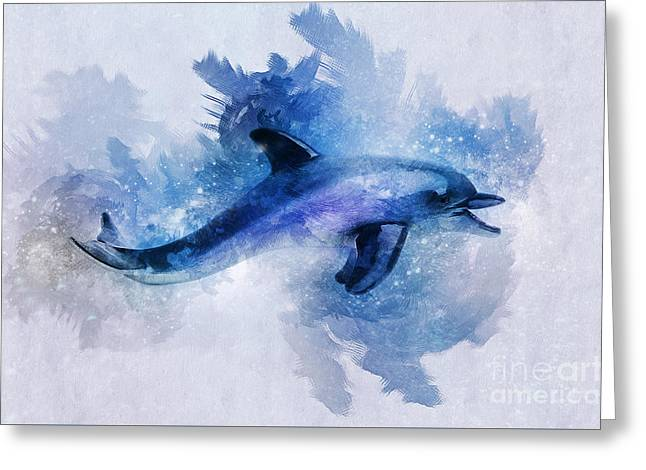 Dolphins Freedom Greeting Card