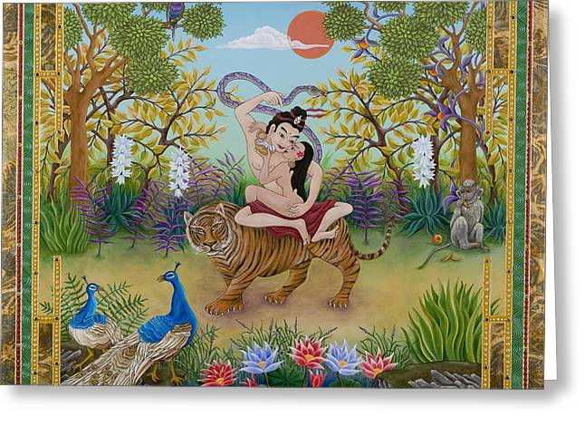 Dombi And The Dakini Greeting Card