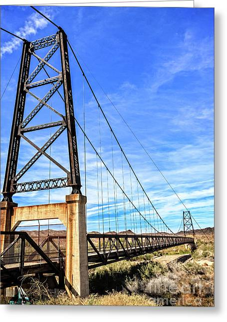 Greeting Card featuring the photograph Dome Bridge by Robert Bales