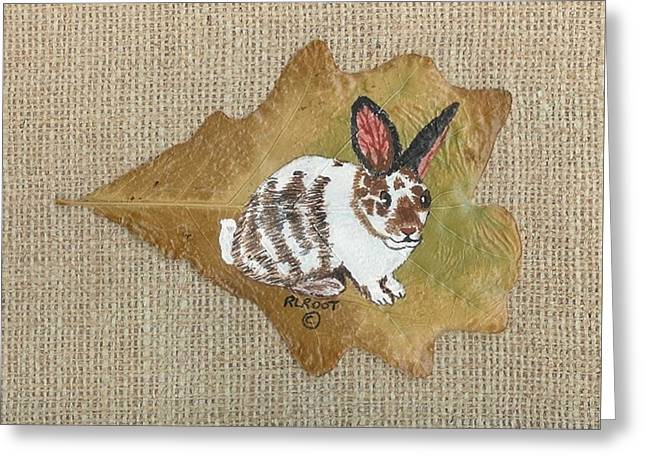 domestic Rabbit Greeting Card