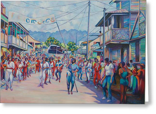 Dominica Carnival Greeting Card