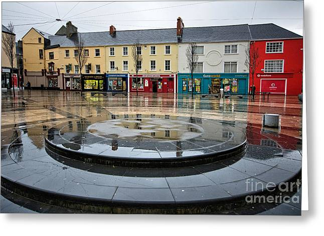 Dominick Street, Tralee Greeting Card by Nichola Denny