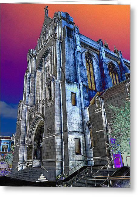 Dominic's Catholic Church Greeting Card