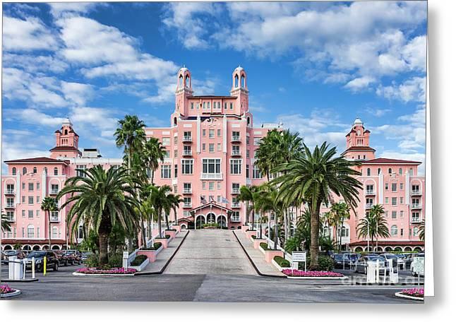 Don Cesar Beach Resort And Spa Greeting Card by John Greim