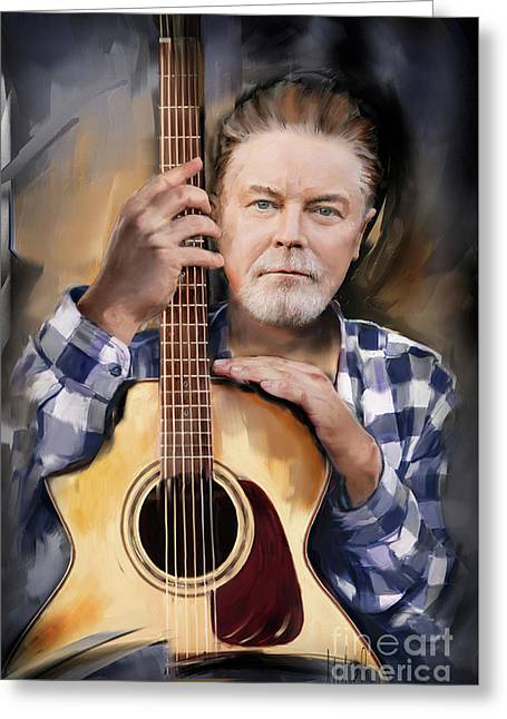 Don Henley Greeting Card