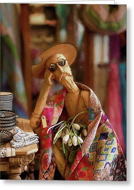 Don Quixote De La Mancha Greeting Card