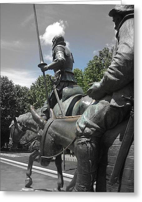 Don Quixote Greeting Card by JAMART Photography