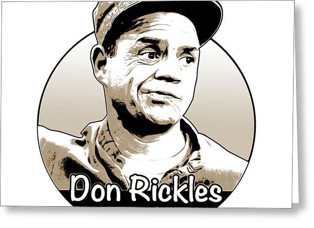 Don Rickles Greeting Card