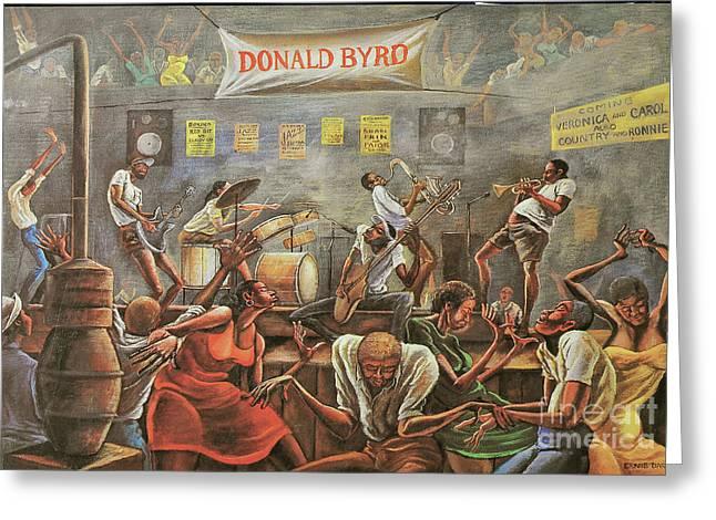 Donald Byrd Greeting Card