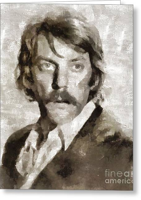 Donald Sutherland, Actor Greeting Card