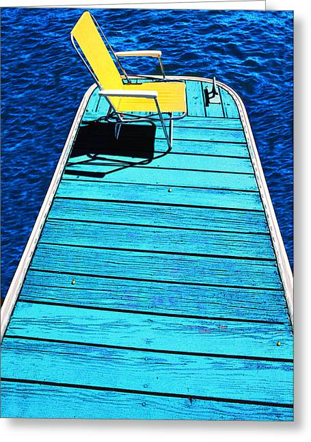 Done Fishing Greeting Card by Paul Wear