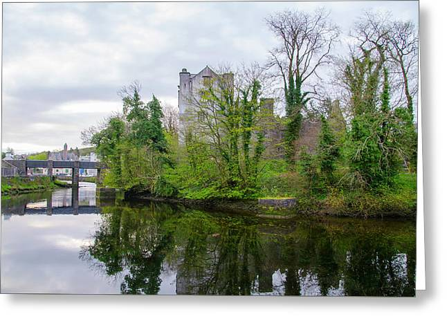 Donegal Castle Ruin - Ireland Greeting Card
