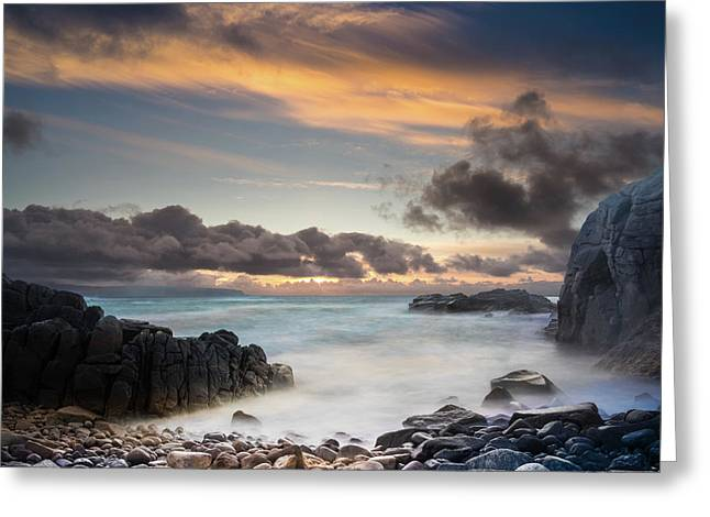 Donegal Sunset 5 Greeting Card