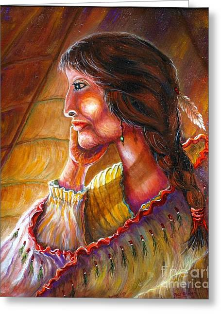 Donna Lisa Greeting Card