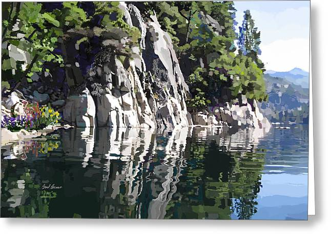 Donnell Lake Greeting Card