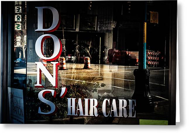 Don's Reflections  Greeting Card by Phillip Burrow