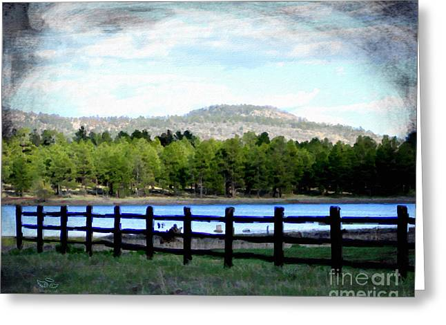 Greeting Card featuring the photograph Don't Fence Me In by Beauty For God