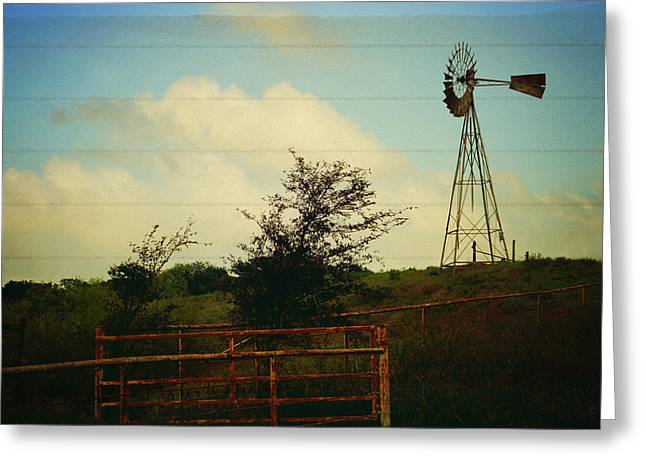 Ranch Life Greeting Cards - Dont forget to write home Greeting Card by Toni Hopper