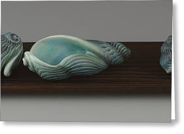 Seashore Sculptures Greeting Cards - Dont Make Waves Greeting Card by Jacques Vesery