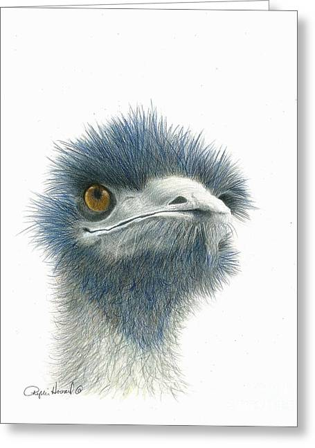 Dont Mess With Emu Greeting Card