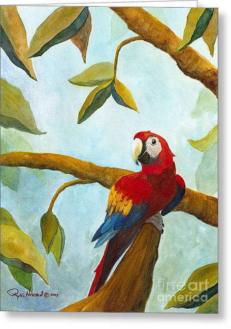 Mccaw Greeting Cards - Dont Worry Be Happy Greeting Card by Phyllis Howard