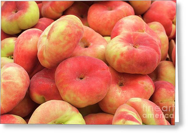Donut Peaches Greeting Card by Bruce Block