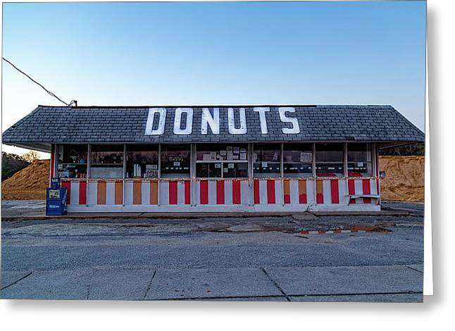 Donut Shop No Longer 3, Niceville, Florida Greeting Card