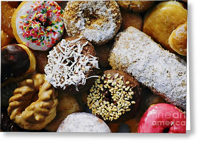 Donuts Greeting Card