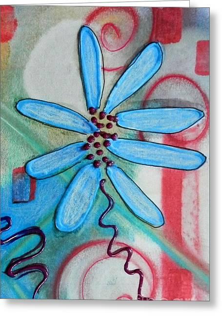 Doodled Daisy Greeting Card