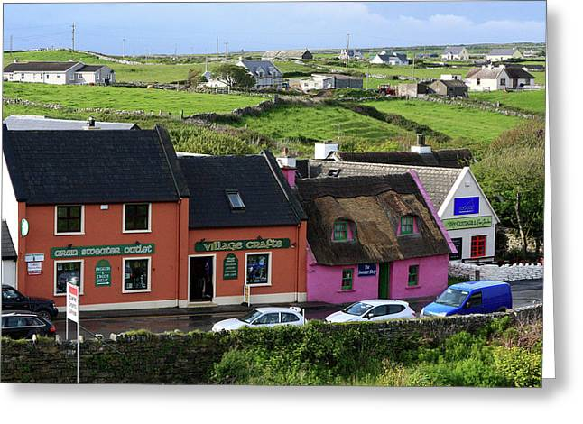 Doolin Village County Clare Greeting Card